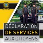 Declaration des services aux citoyens